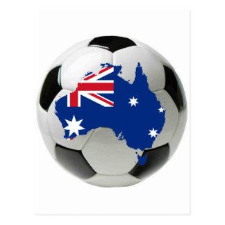 オーストラリアの全国代表チーム ポストカード