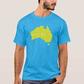 オーストラリアの国のシルエット Tシャツ
