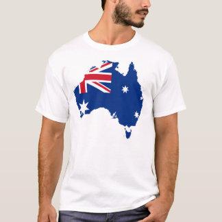 オーストラリアの州の旗のワイシャツのプライドのTシャツ Tシャツ