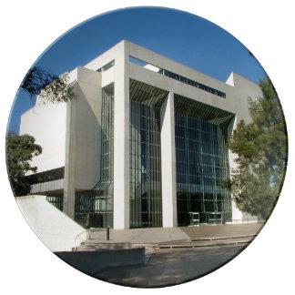 オーストラリアの建物の高等法院 磁器プレート