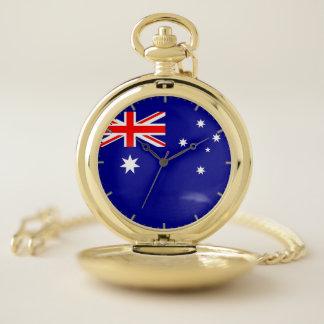 オーストラリアの愛国心が強い壊中時計の旗 ポケットウォッチ