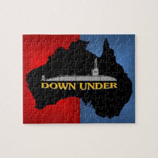 オーストラリアの攻撃潜水艦 ジグソーパズル
