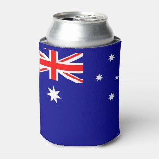 オーストラリアの旗が付いているクーラーボックス 缶クーラー