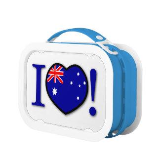 オーストラリアの旗のお弁当箱 ランチボックス