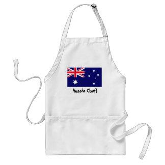 オーストラリアの旗のシェフのエプロン スタンダードエプロン
