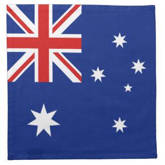 オーストラリアの旗のナプキン ナプキンクロス