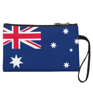 オーストラリアの旗のリストレットの財布 クラッチ