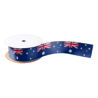 オーストラリアの旗のリボン サテンリボン
