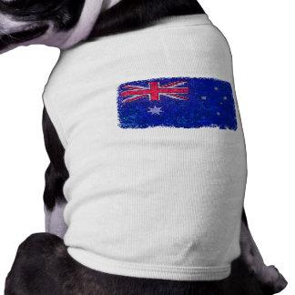 オーストラリアの旗ペットワイシャツ ペット服