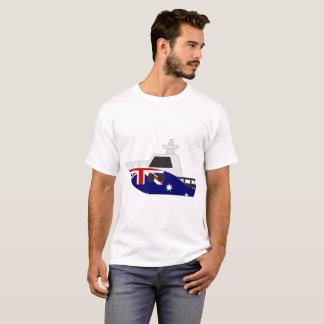 オーストラリアの旗艇 Tシャツ