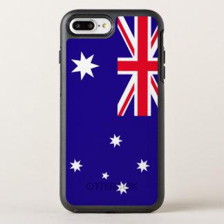 オーストラリアの旗 オッターボックスシンメトリーiPhone 8 PLUS/7 PLUSケース