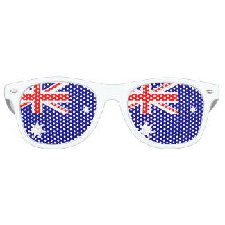 オーストラリアの旗-オーストラリアの旗 パーティ用サングラス