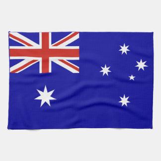 オーストラリアの旗 キッチンタオル