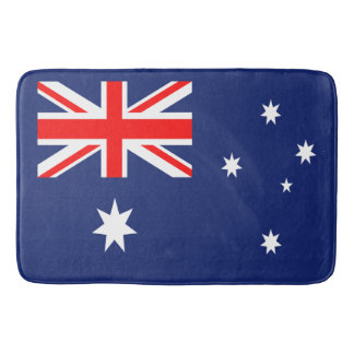 オーストラリアの旗 バスマット