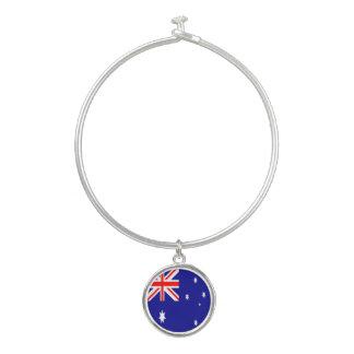 オーストラリアの旗 バングルブレスレット