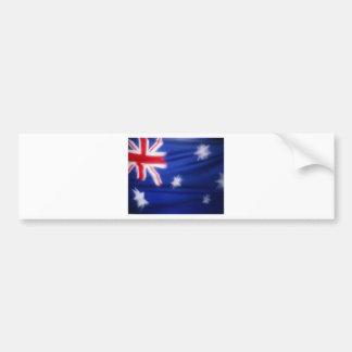 オーストラリアの旗 バンパーステッカー