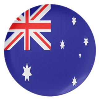オーストラリアの旗 プレート