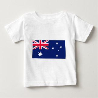 オーストラリアの旗 ベビーTシャツ