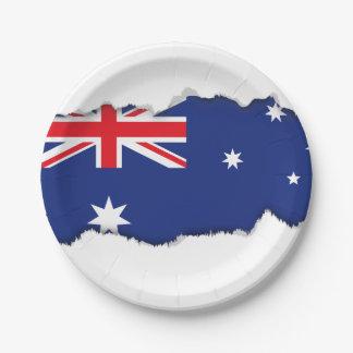 オーストラリアの旗 ペーパープレート