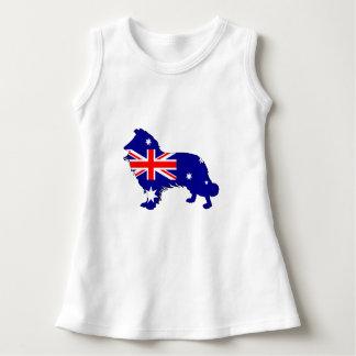 オーストラリアの旗-ボーダーコリー ドレス