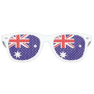 オーストラリアの旗 レトロサングラス