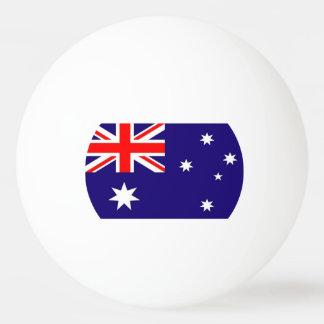オーストラリアの旗 卓球ボール