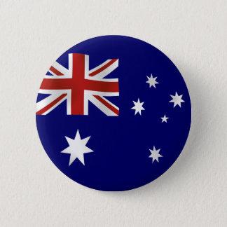 オーストラリアの旗 5.7CM 丸型バッジ