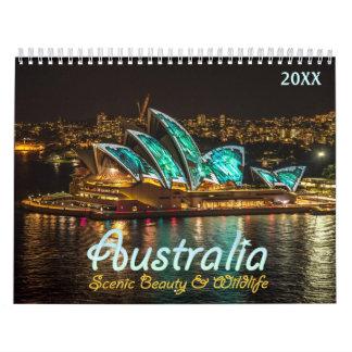 オーストラリアの景色のカレンダー2017年 カレンダー