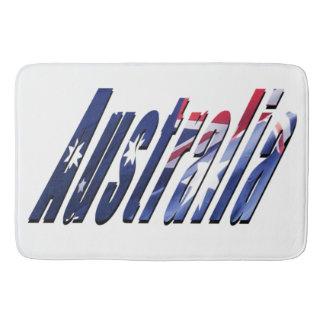 オーストラリアの次元のロゴ、Lgeの記憶バス・マット バスマット