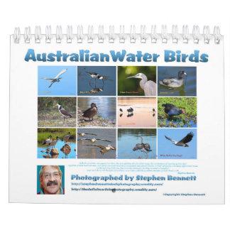 オーストラリアの水鳥 カレンダー