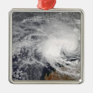 オーストラリアの沖の熱帯低気圧ニコラス メタルオーナメント