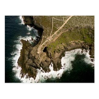 オーストラリアの海岸: Archのカンガルーの島海軍大将の はがき