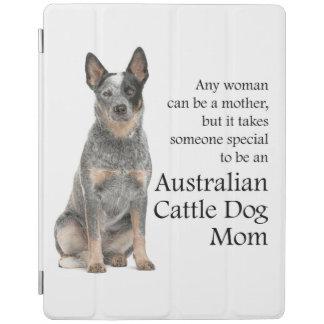 オーストラリアの牛犬のお母さんのiPadカバー iPadスマートカバー