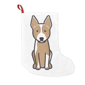 オーストラリアの牛犬の漫画 スモールクリスマスストッキング
