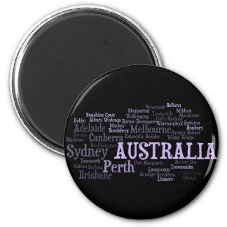 オーストラリアの磁石 マグネット