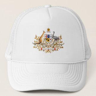 オーストラリアの紋章付き外衣 キャップ