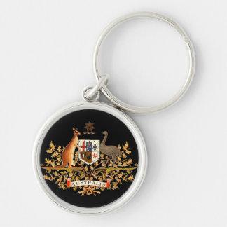 オーストラリアの紋章付き外衣 キーホルダー