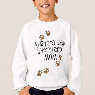オーストラリアの羊飼いのお母さん スウェットシャツ