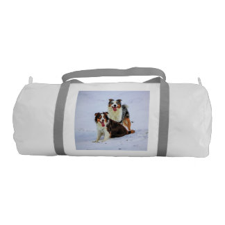 オーストラリアの羊飼いのカップル犬 ジムバッグ