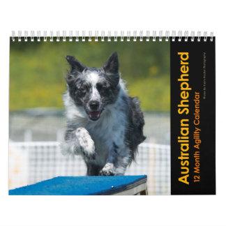 オーストラリアの羊飼いの敏捷のカレンダー カレンダー
