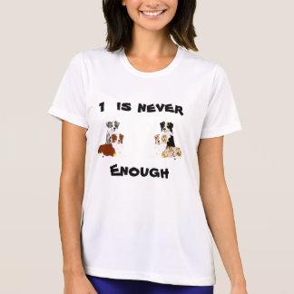 オーストラリアの羊飼い1は決して十分なTシャツではないです Tシャツ