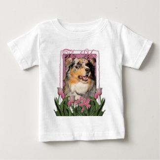 -オーストラリアの羊飼い- Dustineありがとう ベビーTシャツ