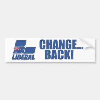 オーストラリアの自由党 バンパーステッカー