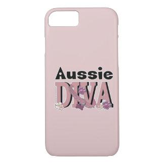 オーストラリアの花型女性歌手 iPhone 8/7ケース