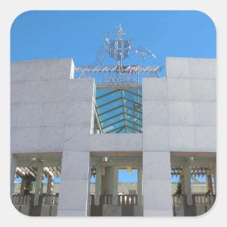オーストラリアの議会-キャンベラ スクエアシール