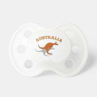 オーストラリアの跳躍のカンガルー おしゃぶり