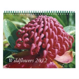 オーストラリアの野生の花2012のカレンダー カレンダー