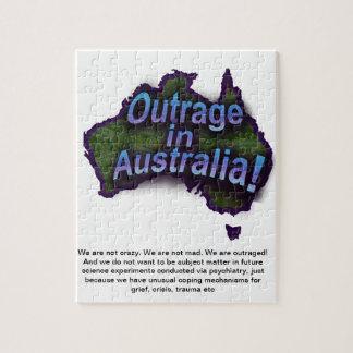 オーストラリアの非道! ジグソーパズル