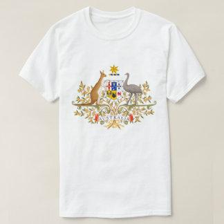 オーストラリアのTシャツ紋章付き外衣 Tシャツ