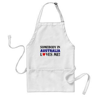 オーストラリアは私を愛します スタンダードエプロン